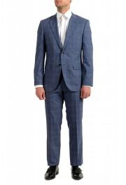 Hugo Boss Men's Phoenix/Madisen Plaid Comfort Fit 100% Wool Suit