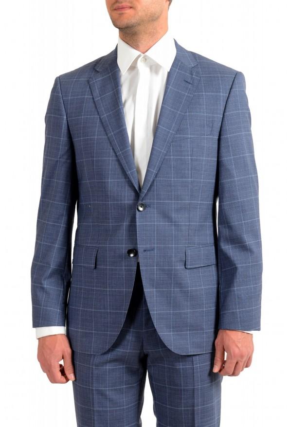 Hugo Boss Men's Phoenix/Madisen Plaid Comfort Fit 100% Wool Suit: Picture 4