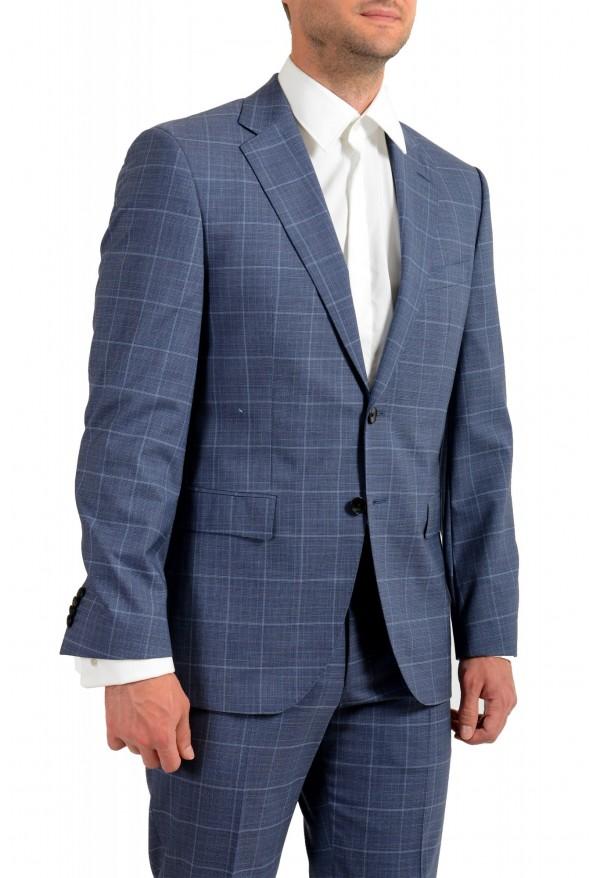 Hugo Boss Men's Phoenix/Madisen Plaid Comfort Fit 100% Wool Suit: Picture 5