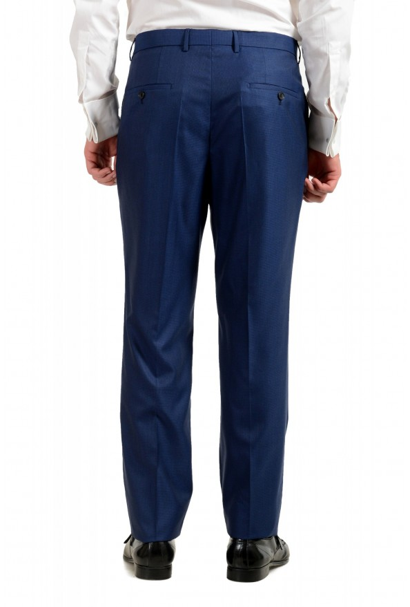 """Hugo Boss Men's """"T-Harvers4/Glover3"""" Blue Slim Fit Silk Wool Two Button Suit: Picture 9"""