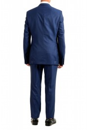 """Hugo Boss Men's """"T-Harvers4/Glover3"""" Blue Slim Fit Silk Wool Two Button Suit: Picture 2"""