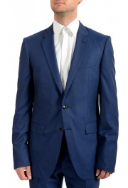 """Hugo Boss Men's """"T-Harvers4/Glover3"""" Blue Slim Fit Silk Wool Two Button Suit: Picture 3"""