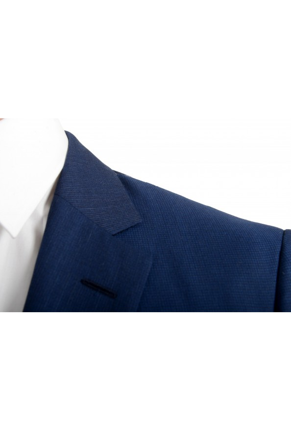 """Hugo Boss Men's """"T-Harvers4/Glover3"""" Blue Slim Fit Silk Wool Two Button Suit: Picture 6"""