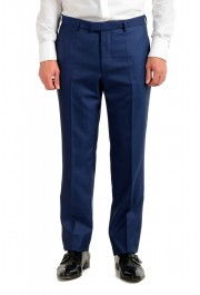 """Hugo Boss Men's """"T-Harvers4/Glover3"""" Blue Slim Fit Silk Wool Two Button Suit: Picture 7"""