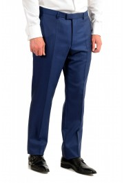 """Hugo Boss Men's """"T-Harvers4/Glover3"""" Blue Slim Fit Silk Wool Two Button Suit: Picture 8"""