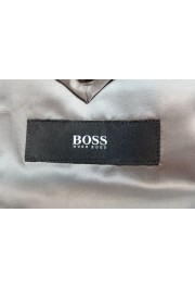 "Hugo Boss Men's ""Jeckson/Lenon1"" Gray Regular Fit 100% Wool Two Button Suit: Picture 12"