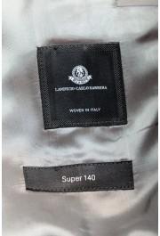 "Hugo Boss Men's ""Jeckson/Lenon1"" Gray Regular Fit 100% Wool Two Button Suit: Picture 13"