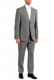 "Hugo Boss Men's ""Jeckson/Lenon1"" Gray Regular Fit 100% Wool Two Button Suit: Picture 2"