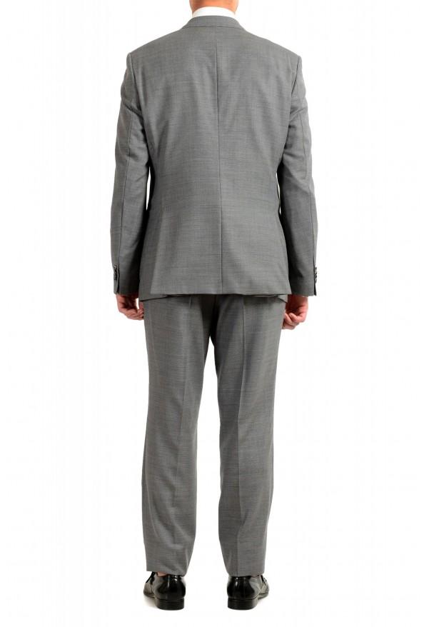 "Hugo Boss Men's ""Jeckson/Lenon1"" Gray Regular Fit 100% Wool Two Button Suit: Picture 3"