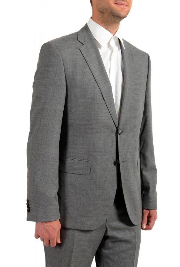 "Hugo Boss Men's ""Jeckson/Lenon1"" Gray Regular Fit 100% Wool Two Button Suit: Picture 5"