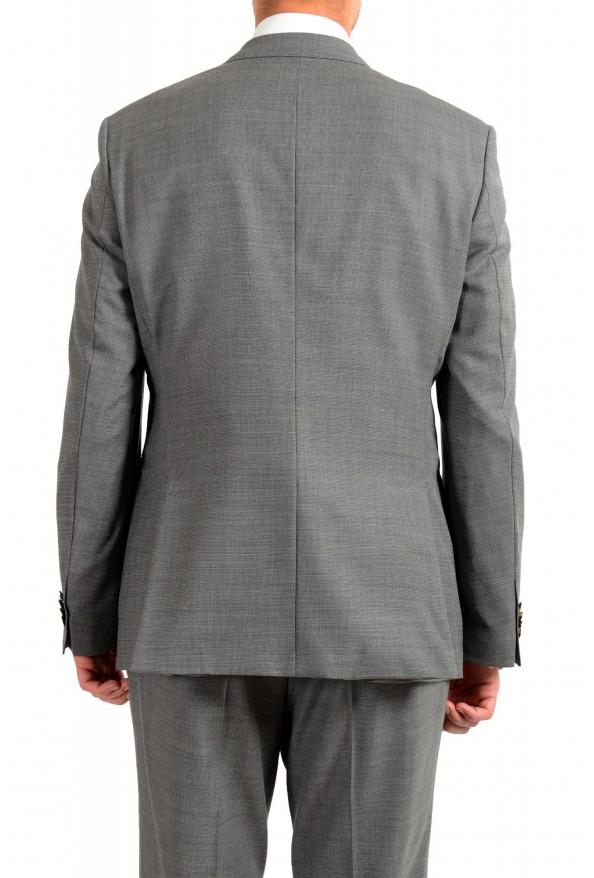 "Hugo Boss Men's ""Jeckson/Lenon1"" Gray Regular Fit 100% Wool Two Button Suit: Picture 6"