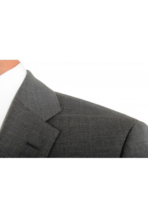 "Hugo Boss Men's ""Jeckson/Lenon1"" Gray Regular Fit 100% Wool Two Button Suit: Picture 7"