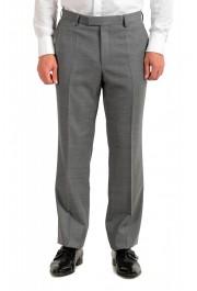 "Hugo Boss Men's ""Jeckson/Lenon1"" Gray Regular Fit 100% Wool Two Button Suit: Picture 8"