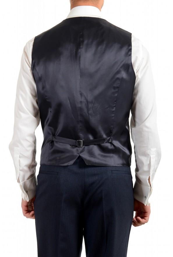 "Hugo Boss Men's ""Arti/Hesten184V1"" Extra Slim Fit Blue Wool Three Piece Suit: Picture 10"