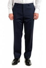 "Hugo Boss Men's ""Arti/Hesten184V1"" Extra Slim Fit Blue Wool Three Piece Suit: Picture 11"