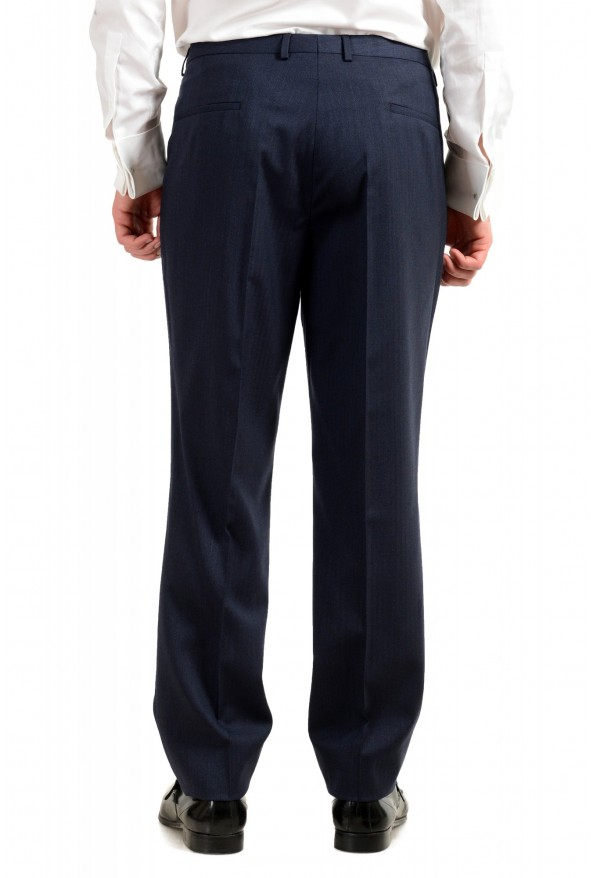 "Hugo Boss Men's ""Arti/Hesten184V1"" Extra Slim Fit Blue Wool Three Piece Suit: Picture 13"