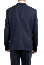 "Hugo Boss Men's ""Arti/Hesten184V1"" Extra Slim Fit Blue Wool Three Piece Suit: Picture 6"