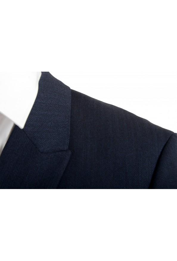 "Hugo Boss Men's ""Arti/Hesten184V1"" Extra Slim Fit Blue Wool Three Piece Suit: Picture 7"