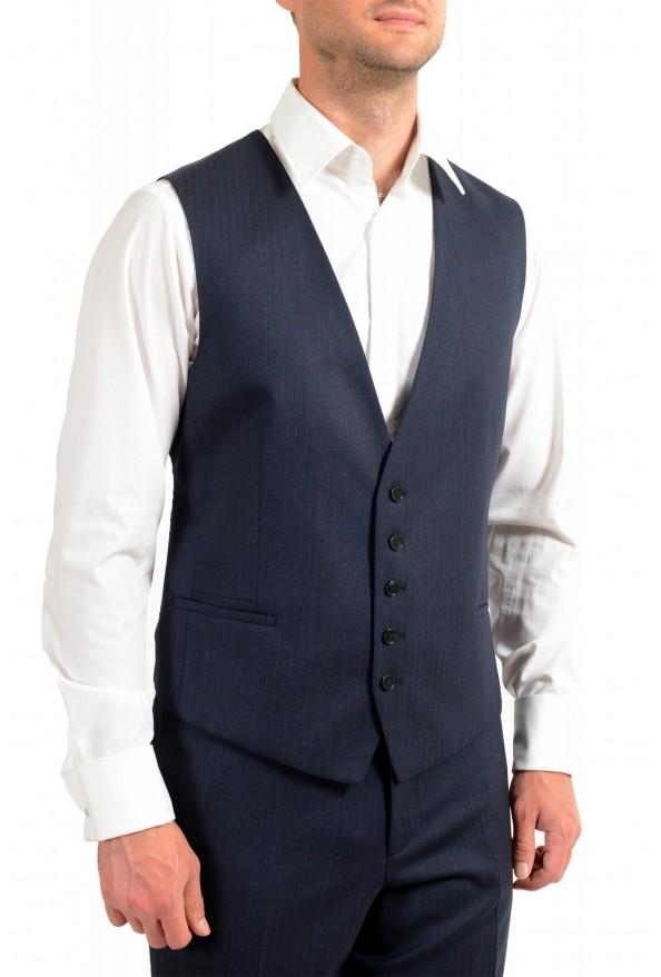 "Hugo Boss Men's ""Arti/Hesten184V1"" Extra Slim Fit Blue Wool Three Piece Suit: Picture 9"