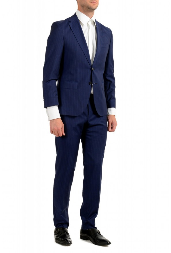 Hugo Boss Men's Johnstons5/Lenon1 Regular Fit Striped 100% Wool Two Button Suit: Picture 2