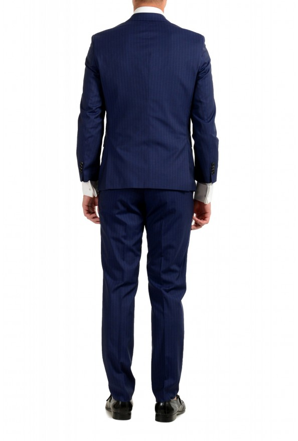 Hugo Boss Men's Johnstons5/Lenon1 Regular Fit Striped 100% Wool Two Button Suit: Picture 3