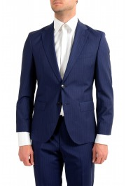 Hugo Boss Men's Johnstons5/Lenon1 Regular Fit Striped 100% Wool Two Button Suit: Picture 4