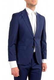 Hugo Boss Men's Johnstons5/Lenon1 Regular Fit Striped 100% Wool Two Button Suit: Picture 5