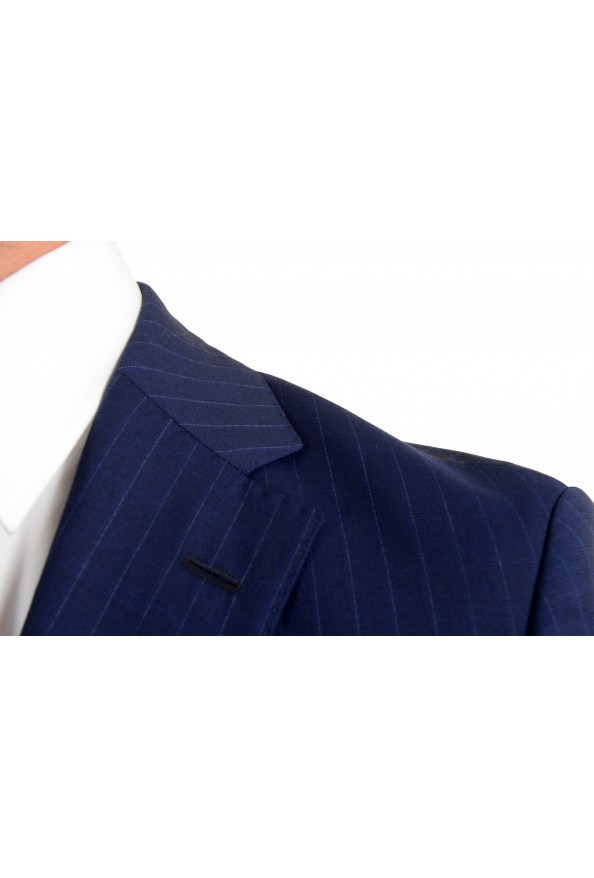 Hugo Boss Men's Johnstons5/Lenon1 Regular Fit Striped 100% Wool Two Button Suit: Picture 7