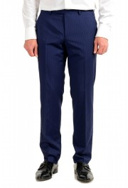 Hugo Boss Men's Johnstons5/Lenon1 Regular Fit Striped 100% Wool Two Button Suit: Picture 8