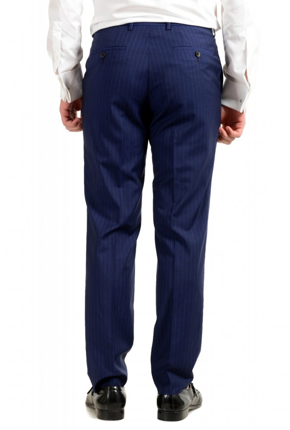 Hugo Boss Men's Johnstons5/Lenon1 Regular Fit Striped 100% Wool Two Button Suit: Picture 9
