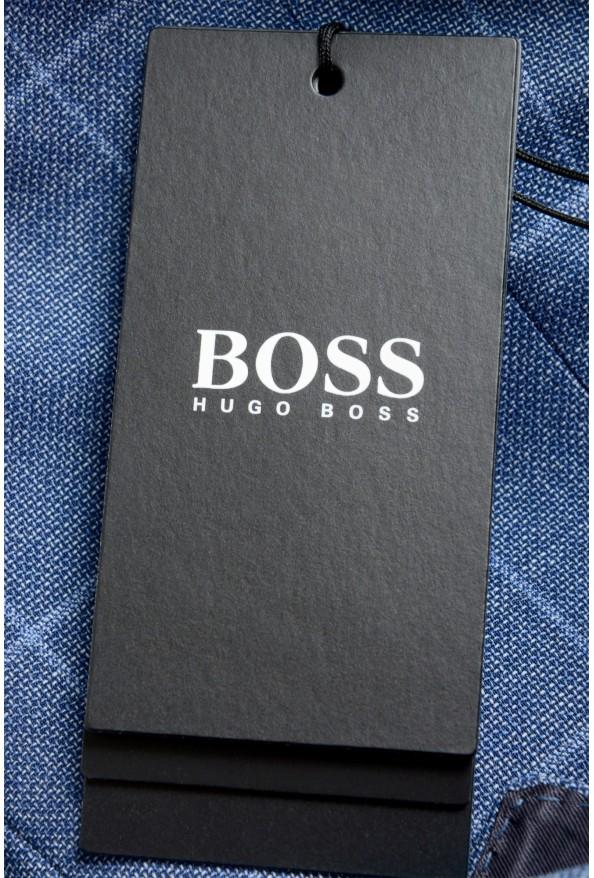 "Hugo Boss Men's ""Huge6/Genius5"" Slim Fit Plaid 100% Wool Two Button Suit: Picture 11"