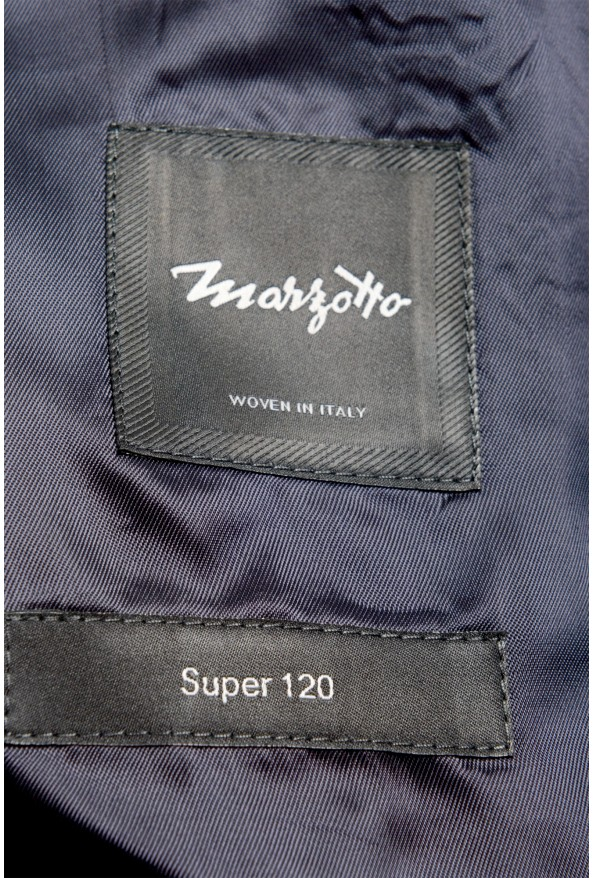 "Hugo Boss Men's ""Huge6/Genius5"" Slim Fit Plaid 100% Wool Two Button Suit: Picture 12"