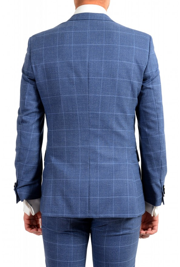 "Hugo Boss Men's ""Huge6/Genius5"" Slim Fit Plaid 100% Wool Two Button Suit: Picture 6"
