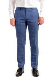 "Hugo Boss Men's ""Huge6/Genius5"" Slim Fit Plaid 100% Wool Two Button Suit: Picture 8"