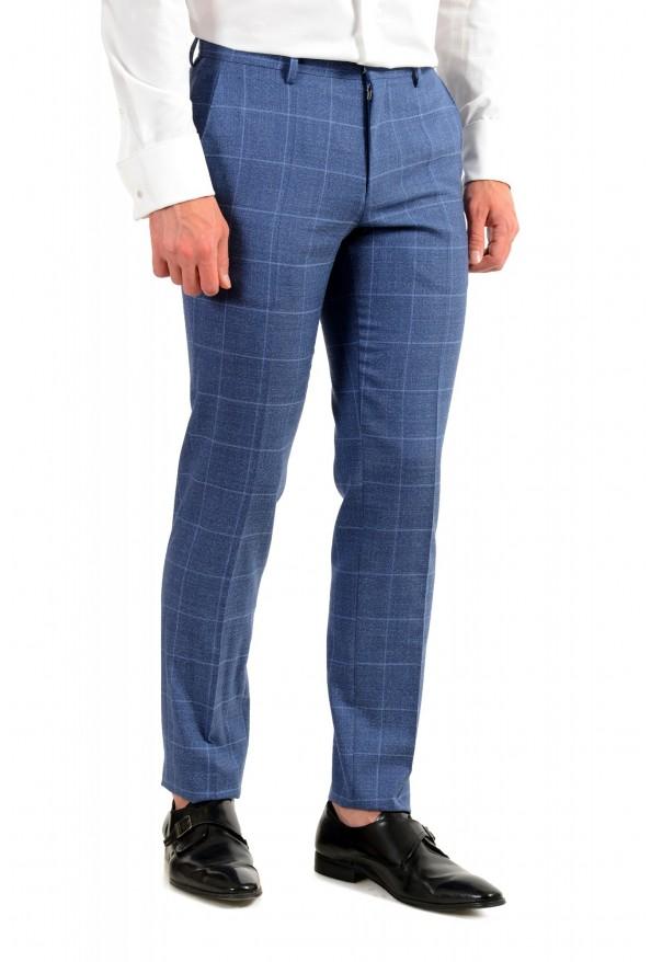 "Hugo Boss Men's ""Huge6/Genius5"" Slim Fit Plaid 100% Wool Two Button Suit: Picture 9"
