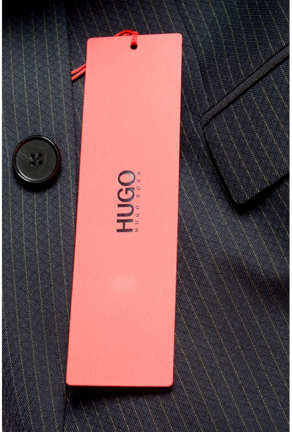 """Hugo Boss Men's """"Phil/Taylor182"""" Extra Slim Fit Striped Wool Two Button Suit: Picture 11"""