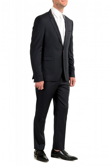 """Hugo Boss Men's """"Phil/Taylor182"""" Extra Slim Fit Striped Wool Two Button Suit: Picture 2"""