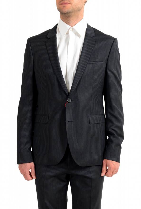 """Hugo Boss Men's """"Phil/Taylor182"""" Extra Slim Fit Striped Wool Two Button Suit: Picture 4"""