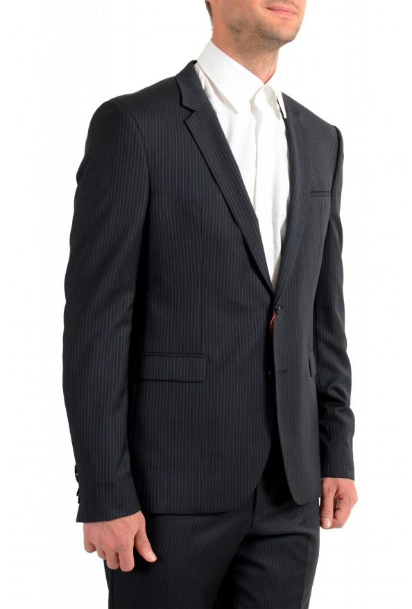 """Hugo Boss Men's """"Phil/Taylor182"""" Extra Slim Fit Striped Wool Two Button Suit: Picture 5"""