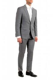 "Hugo Boss Men's ""Huge6/Genius5"" Slim Fit Gray 100% Wool Two Button Suit: Picture 2"