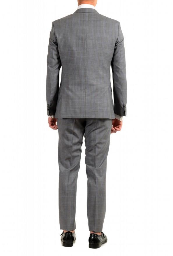 "Hugo Boss Men's ""Huge6/Genius5"" Slim Fit Gray 100% Wool Two Button Suit: Picture 3"