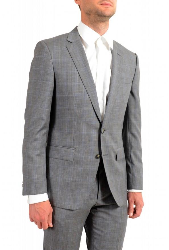 "Hugo Boss Men's ""Huge6/Genius5"" Slim Fit Gray 100% Wool Two Button Suit: Picture 5"