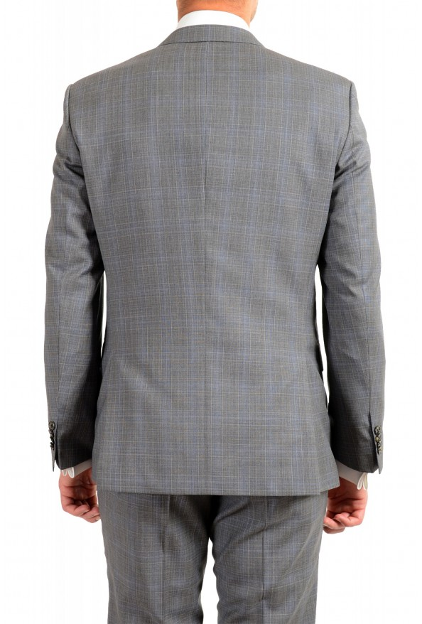 "Hugo Boss Men's ""Huge6/Genius5"" Slim Fit Gray 100% Wool Two Button Suit: Picture 6"