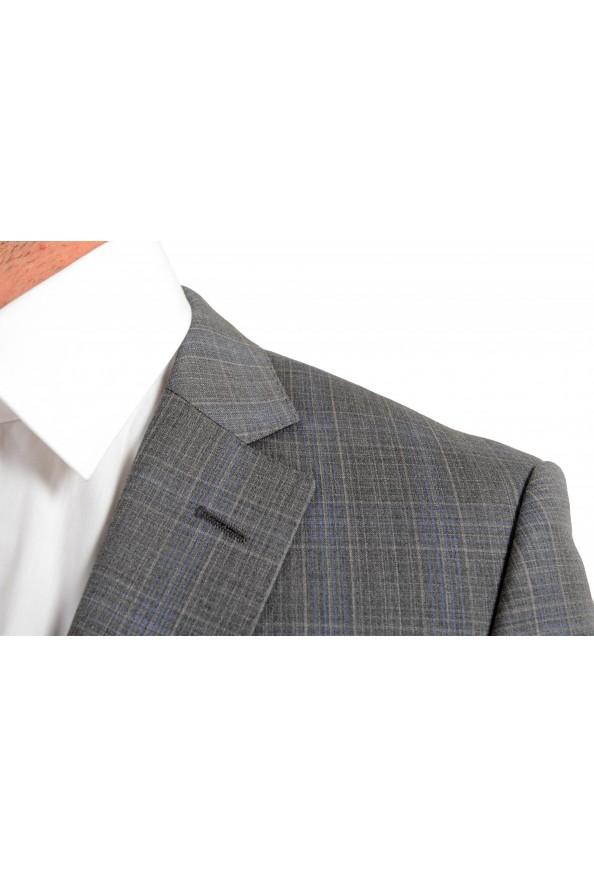 "Hugo Boss Men's ""Huge6/Genius5"" Slim Fit Gray 100% Wool Two Button Suit: Picture 7"