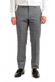 "Hugo Boss Men's ""Huge6/Genius5"" Slim Fit Gray 100% Wool Two Button Suit: Picture 8"