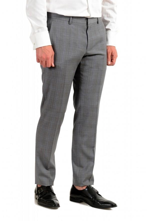 "Hugo Boss Men's ""Huge6/Genius5"" Slim Fit Gray 100% Wool Two Button Suit: Picture 9"