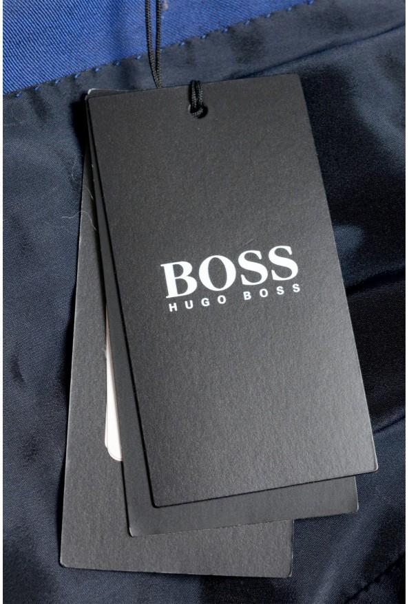 "Hugo Boss Men's ""Huge6/Genius5"" Slim Fit Blue 100% Wool Two Button Suit: Picture 11"