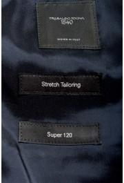 "Hugo Boss Men's ""Huge6/Genius5"" Slim Fit Blue 100% Wool Two Button Suit: Picture 12"