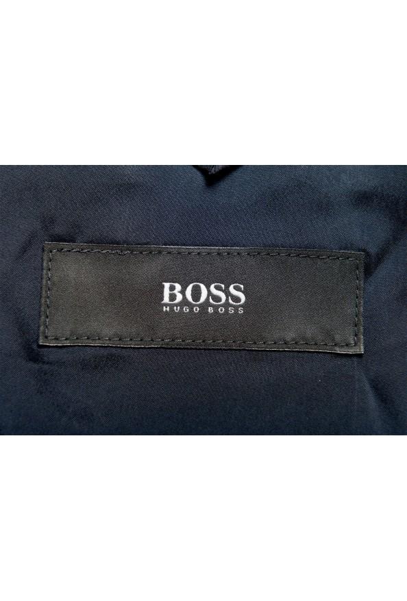 "Hugo Boss Men's ""Huge6/Genius5"" Slim Fit Blue 100% Wool Two Button Suit: Picture 13"