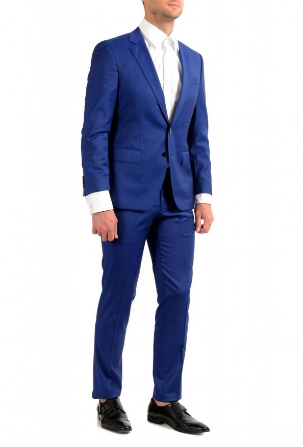"Hugo Boss Men's ""Huge6/Genius5"" Slim Fit Blue 100% Wool Two Button Suit: Picture 2"